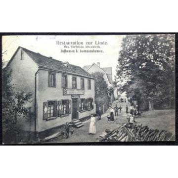AK Aulhausen b. Assmannshausen - Restauration zur Linde Christian Altenkirch