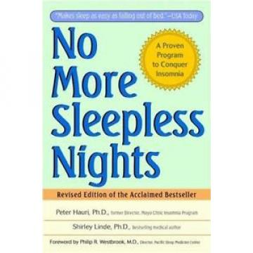 No More Sleepless Nights by Shirley Linde and Peter Hauri (1996, Paperback,...