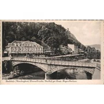 42125314 Karlshafen Bad Diemelbruecke Gasthof zur Linde Hugenottenturm Bad Karls