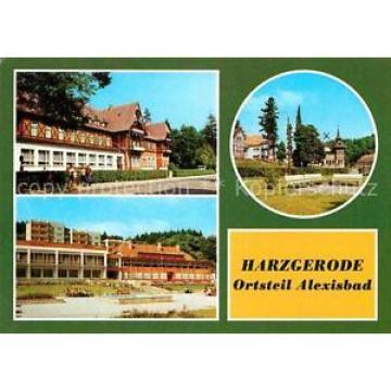 72631438 Harzgerode Alexisbad Hotel-Linde Café-Exquisit Harzgerode