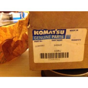 Komatsu, Linde, Allis Chalmers, Baker CC660051 OEM Chain Sheave KMCC660051
