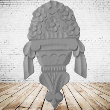 Ornament Linde Schrank Antikdeko Ornamente Restaurierungsbedarf Holz Vintage