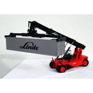 "Reach Stacker Linde C4535 mit 40 Fuss Container ""Linde"" CONRAD in 1:50"