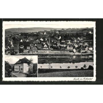 schöne AK Speele, Gasthaus zur linde, Ortsansicht 1939