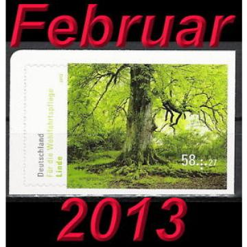 Linde Mi-Nr. 2986 vom Februar 2013 selbstklebend aus Markenheftchen 93