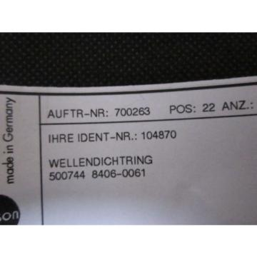 LINDE 104870 SEALING SHAFT FOR PV2662/25