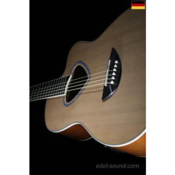 40` Westerngitarre Luisa natur, breiter Hals, Decke Fichte, Korp. Linde, Cut, EQ
