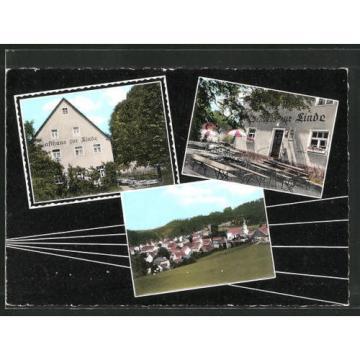tolle AK Obertrubach, Gasthaus zur Linde
