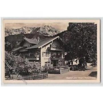 39111165 - Garmisch Partenkirchen. Gasthof zur Linde ungelaufen  Gute Erhaltung.