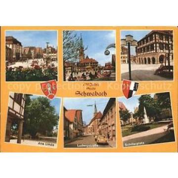 72391342 Schwabach Schillerplatz Ludwigstrasse Alte Linde Schwabach