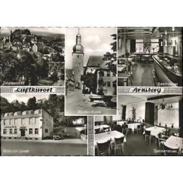 40934110 Arnsberg Westfalen Arnsberg Glockenturm Hotel zur Linde  * Arnsberg