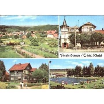72557286 Finsterbergen Volkshaus zur Linde Cafe Waldschloesschen Schwimmbad Fins