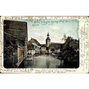 Ak Bad Berka Weimarer Land Thüringen, Blick von der Linde nach der... - 1483752