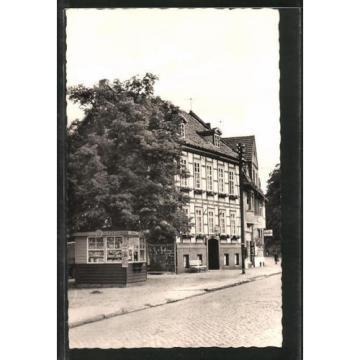 alte AK Ilfeld, Strassenansicht mit FDGB-Erholungsheim Zur Linde