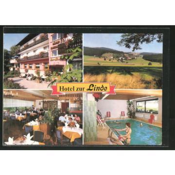schöne AK Bad Herrenalb-Althof, Hotel zur Linde
