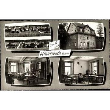 Ak Heidersbach Limbach in Baden, Gasthaus Zur Linde, Inh. Barbara... - 1607317