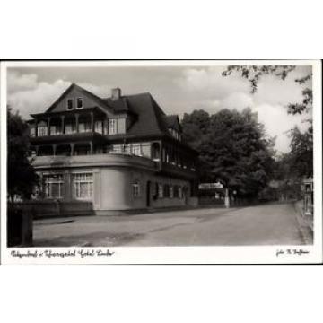 Ak Sitzendorf in Thüringen, Ansicht des Hotel Linde, Straßenpartie - 1565334