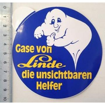 Aufkleber: Gase Von Linde - Die Unsichtbaren Helfer (011115173)