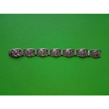 Swedish 1952 Asa Tage Linde Silver Silver Links Bracelet