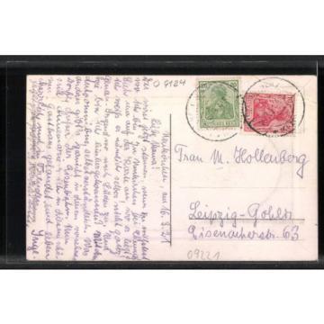tolle Präge-AK Neukirchen, Partie am Gasthaus zur Linde 1921