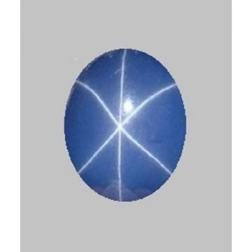 UNSIGNED LOOSE UNMTD VINTAGE LINDE LINDY CORNFLOWER BLUE STAR SAPPHIRE CREATED