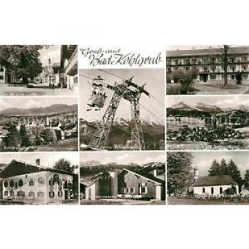 72850673 Bad Kohlgrub Alte Linde Kurhaus Hoernle Schwebebahn Haus zum Jaeger Ber
