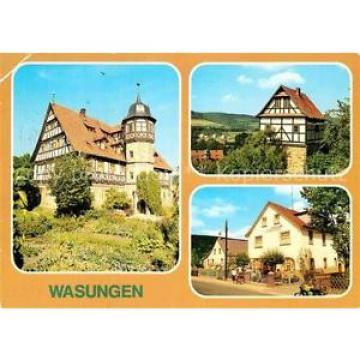 72898385 Wasungen Bibliothek Pfaffenburg Gaststaette zur Linde  Wasungen