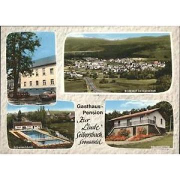 41257101 Seibersbach Gasthaus Linde Schwimmbad Martinshuette Seibersbach