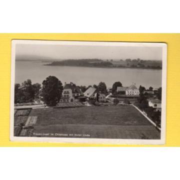 RPPC Germany Frauen-Insel im Chiemsee mit Hotel Linde (A Klein Frauenchiemsee)