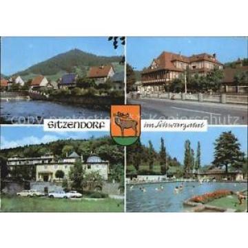 72520824 Sitzendorf Thueringen Schwarza Hotel Bergterrasse Zur Linde Schwimmbad