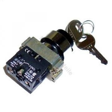 Zündschloss 455 für Linde (2 Pin, 2 Stellungen) Gabelstapler Hubwagen