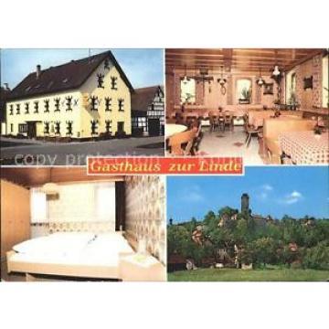 71935065 Neuhaus Pegnitz Gasthaus zur Linde Gastraum Zimmer Burg Neuhaus a.d.Peg