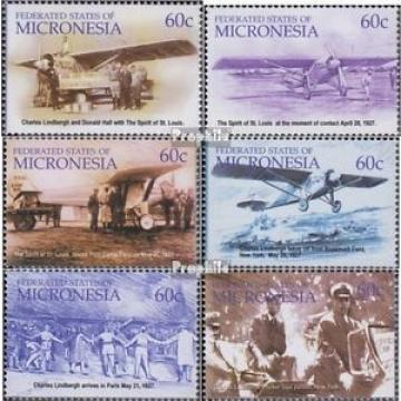 Mikronesien 1400-1405 (compl.Edit.) neuf avec gomme originale 2003 charles Linde