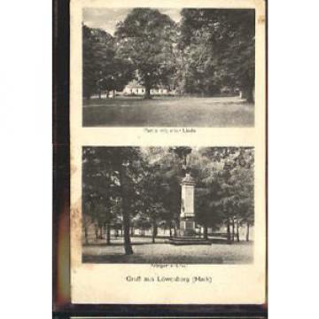 10404056 Loewenberg Niederschlesien Loewenberg Denkmal Linde x 1925 Lwowek Slask
