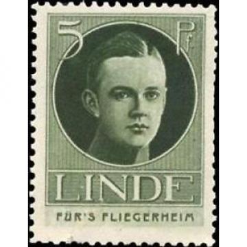 Reklamemarke Linde