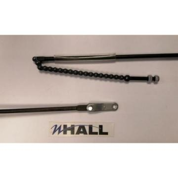 Handle release rod & chain for a Linde M25 series 3 hand pallet/ pump truck