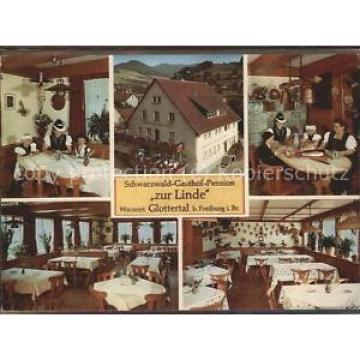 71514892 Glottertal Gasthaus Pension Zur Linde Heinr. Lickert Glottertal Schwa