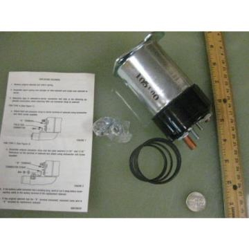 Linde Lift Truck Electromagnetic Relay solenoid p/n 101866   SS304 htf  New