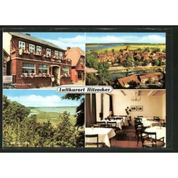 alte AK Hitzacker, Hotel u. Restaurant Zur Linde mit Blick vom Weinberg