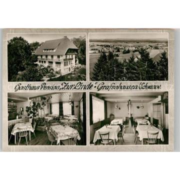 42943551 Grafenhausen Schwarzwald Gasthof Pension Zur Linde Grafenhausen