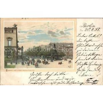 41790229 Berlin Unter den Linde Denkmal Friedr. d. Gr. Litho Berlin