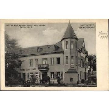 Ak Rengsdorf in Rheinland Pfalz, Hotel zur Linde, Bes. Jak. Kegel - 10037541