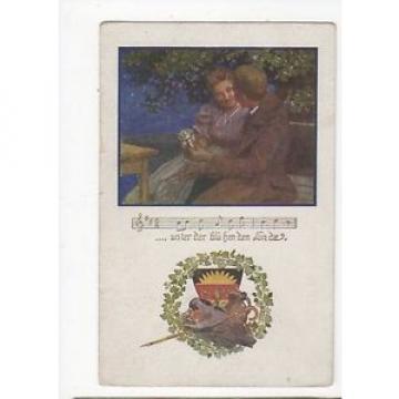 Unter Der Bluehenden Linde 1919 Postcard 0733