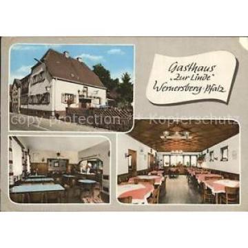 72316700 Wernersberg Pfalz Gasthaus zur Linde Gastraum Wernersberg