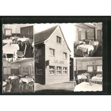 tolle AK Fischbach, Gasthaus Zur Linde, versch. Ansichten