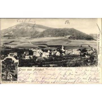 Ak Achdorf im Schwarzwald Baar Kreis, Scheffel Linde, Gasthaus,... - 10073424