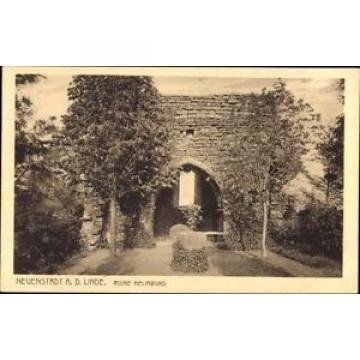 Ak Neuenstadt an der Linde, Blick auf die Ruine Helmbund - 962294