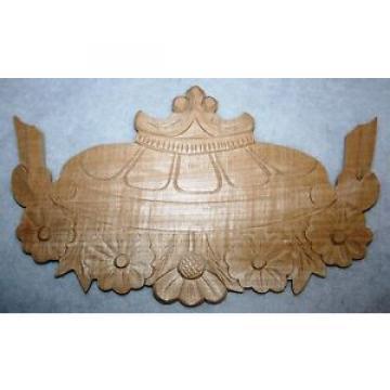 Ornament ,Verzierung ,Holzzierteil in Linde,Vertiko,Kleiderschrank,Schrank Nr.25