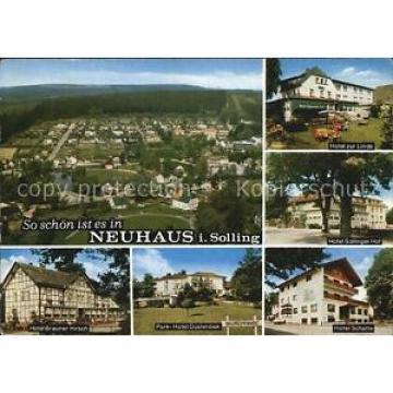 72529167 Neuhaus Solling Panorama Hotel zur Linde Hotel Sollinger Hof Hotel Brau