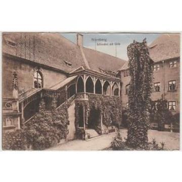 Nürnberg. Schlosshof mit Linde. 1900